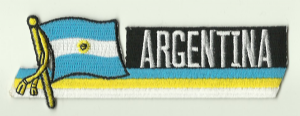 Flag Patch - Argentina 01